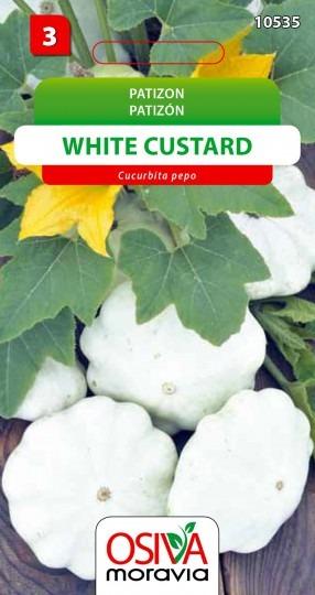 Patizón WHITE CUSTARD 1,5g