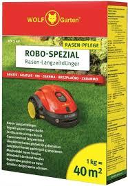 Wolf-Garten trávnikové hnojivo pre robotické kosačky RO-S 7,5kg