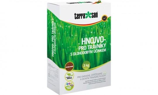TERRASAN hnojivo na trávu s dlhodobým účinkom 3 kg