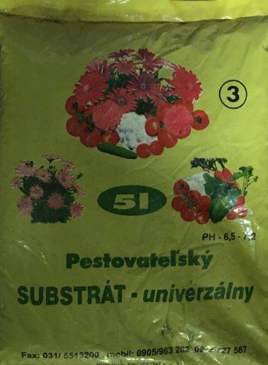 Substrát univerzálny 5l