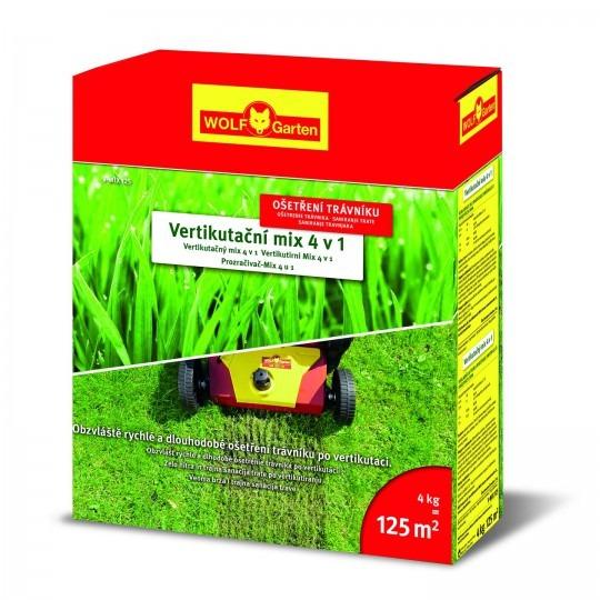 Wolf Garten vertikutačné hnojivo na trávu V-MIX 125 4kg